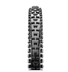 "Maxxis Maxxis High Roller II Tire: 29 x 2.50"", Folding, 120tpi, 3C MaxxTerra, Double Down, Tubeless Ready, Wide Trail, Black"