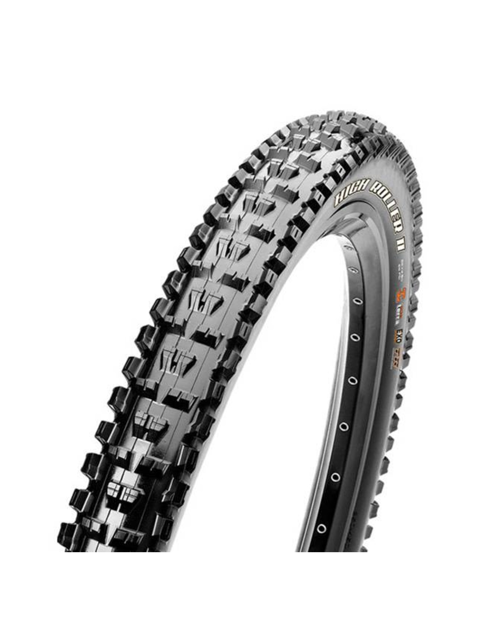"Maxxis Maxxis High Roller II Tire: 29 x 2.50"", Folding, 120tpi, 3C MaxxTerra, Double Down, Tubeless Ready, Wide Trail, Black"