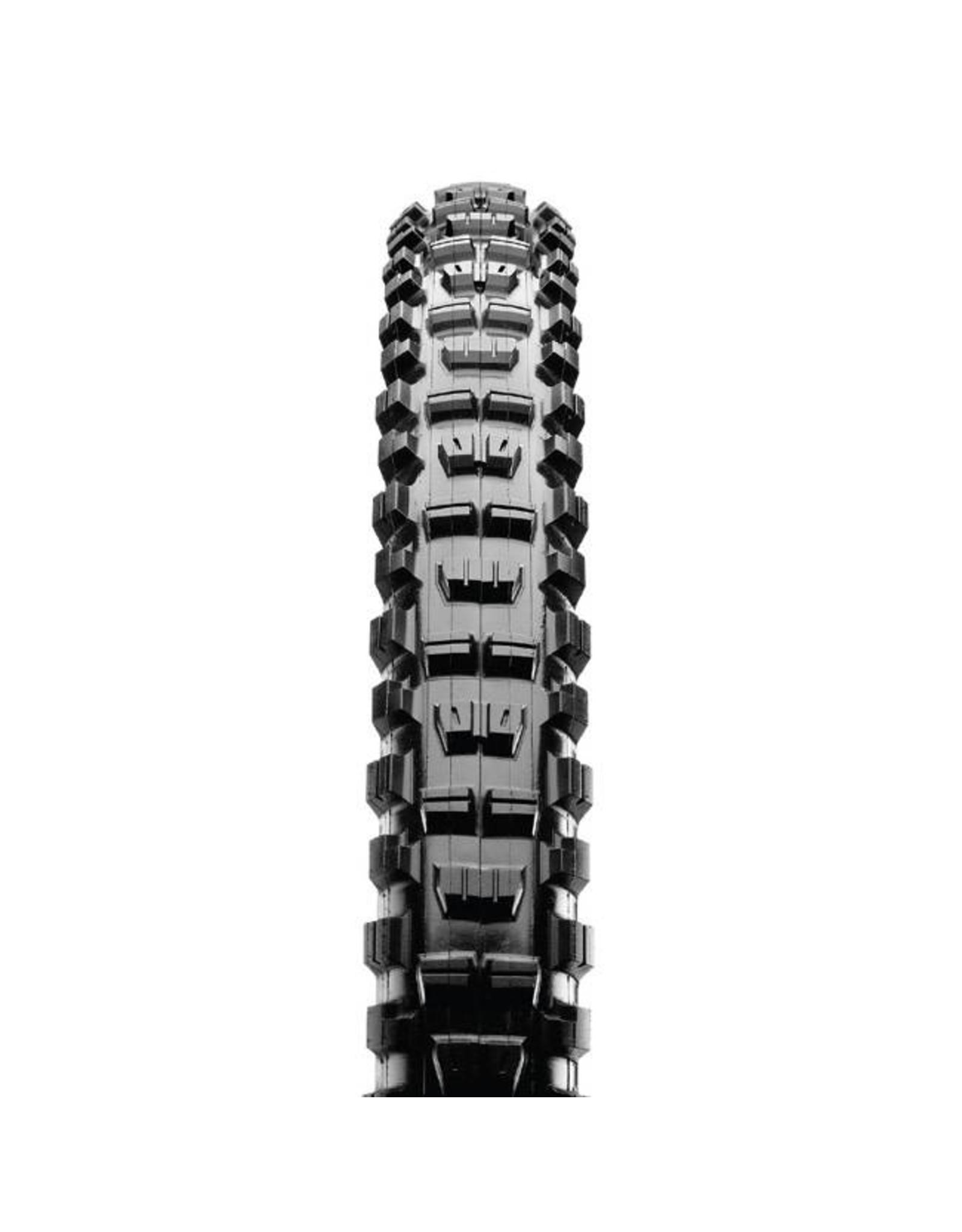 "Maxxis Maxxis Minion DHR II Tire: 27.5 x 2.60"", Folding, 120tpi, 3C MaxxTerra, EXO, Tubeless Ready, Black"
