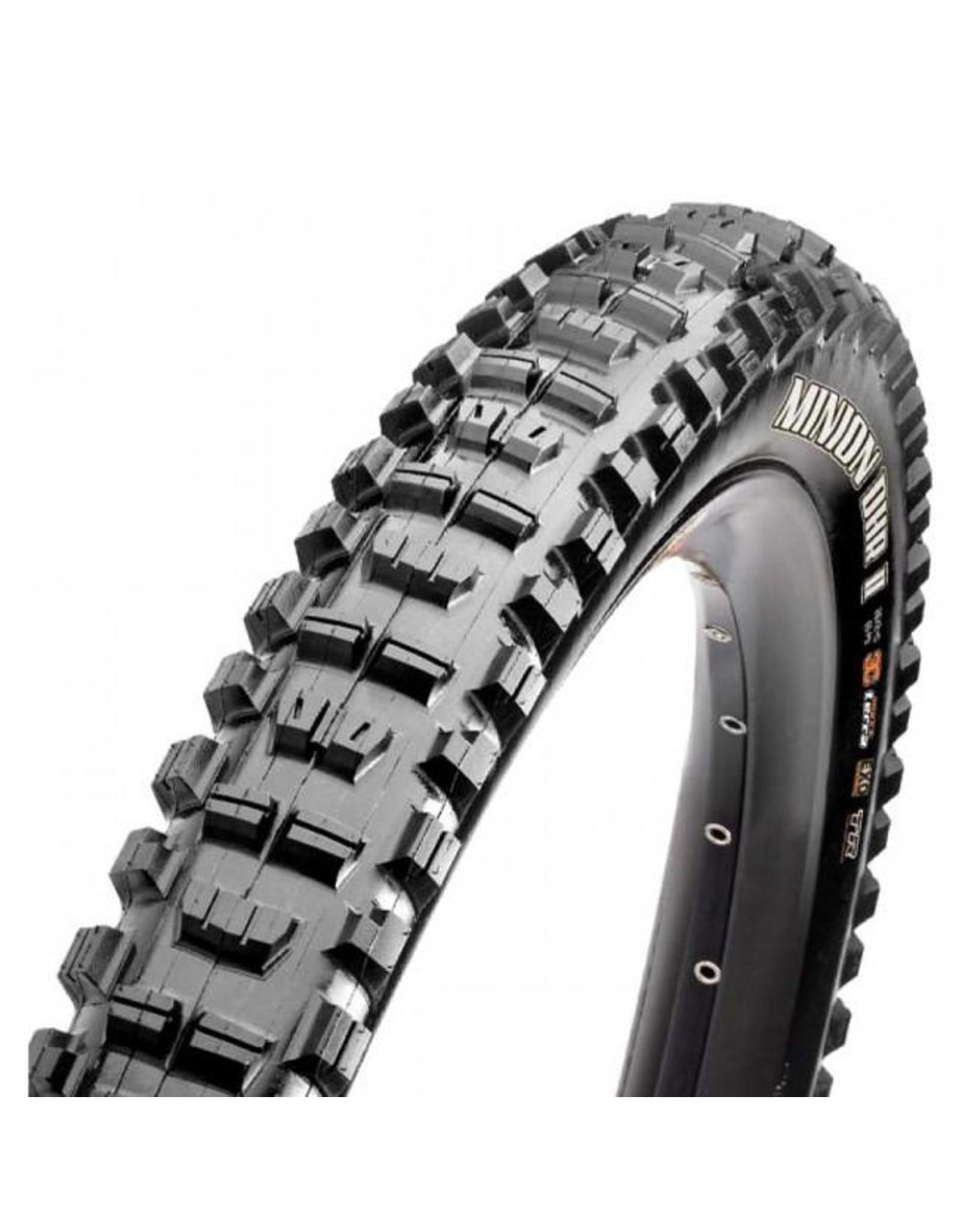 "Maxxis Maxxis Minion DHR II Tire: 29 x 2.30"", Folding, 60tpi, Dual Compound, EXO, Tubeless Ready, Black"