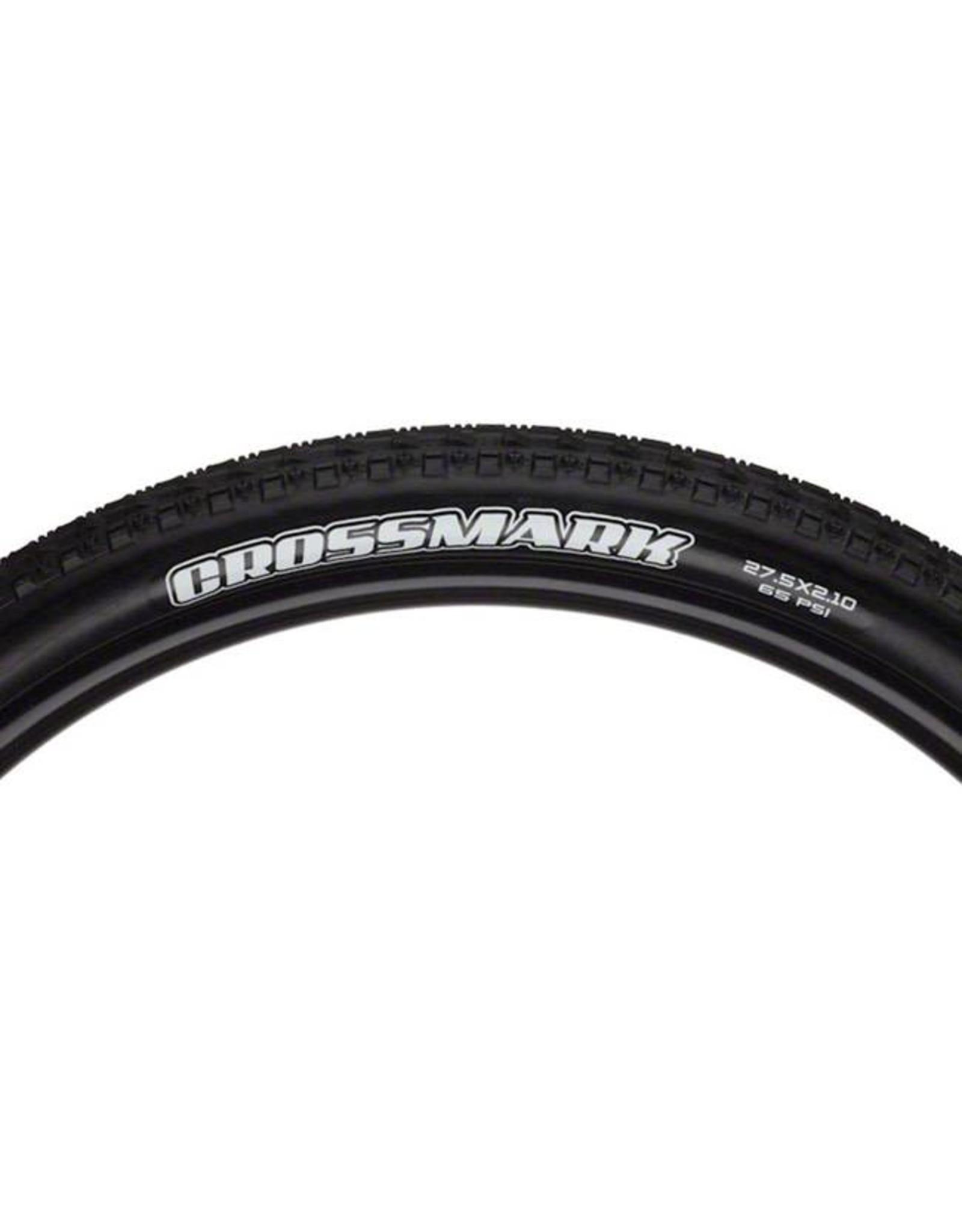 "Maxxis Maxxis Crossmark Tire: 27.5 x 2.10"", Folding, 120tpi, Single Compound, Black"