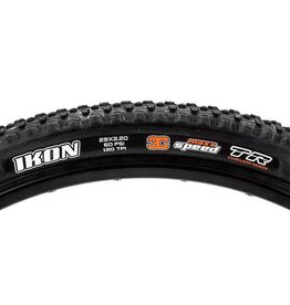 "Maxxis Maxxis Ikon Tire: 29 x 2.20"", Folding, 120tpi, 3C, Tubeless Ready, Black"