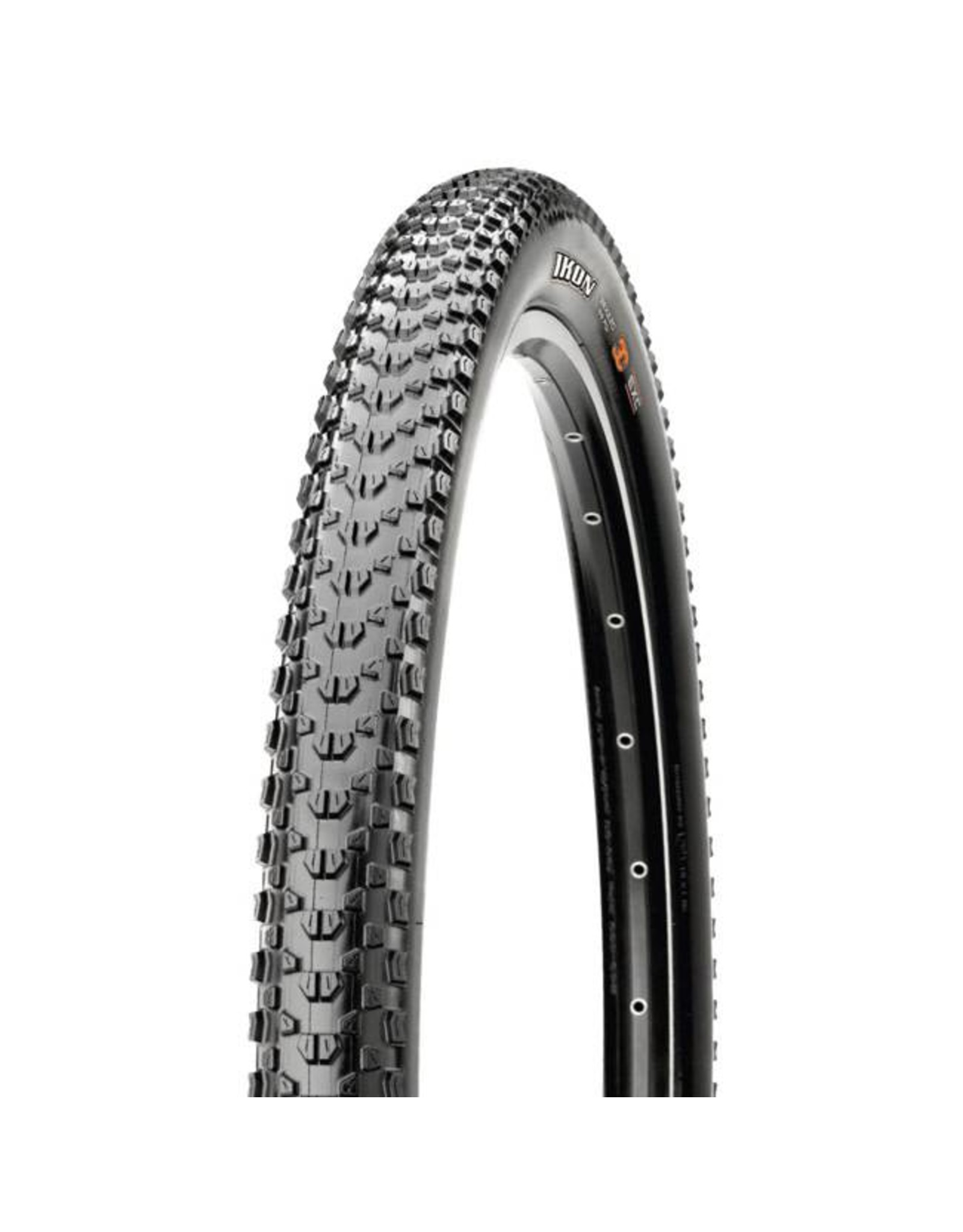 "Maxxis Maxxis Ikon Tire: 27.5 x 2.20"", Folding, 120tpi, 3C, EXO, Tubeless Ready, Black"