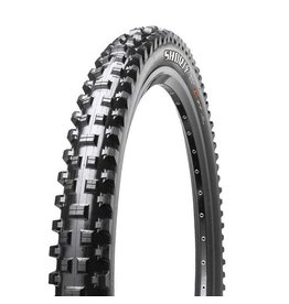 "Maxxis Maxxis Shorty Tire: 29 x 2.50"", Folding, 60tpi, 3C MaxxGrip 2-Ply, Tubeless Ready, Wide Trail, Black"