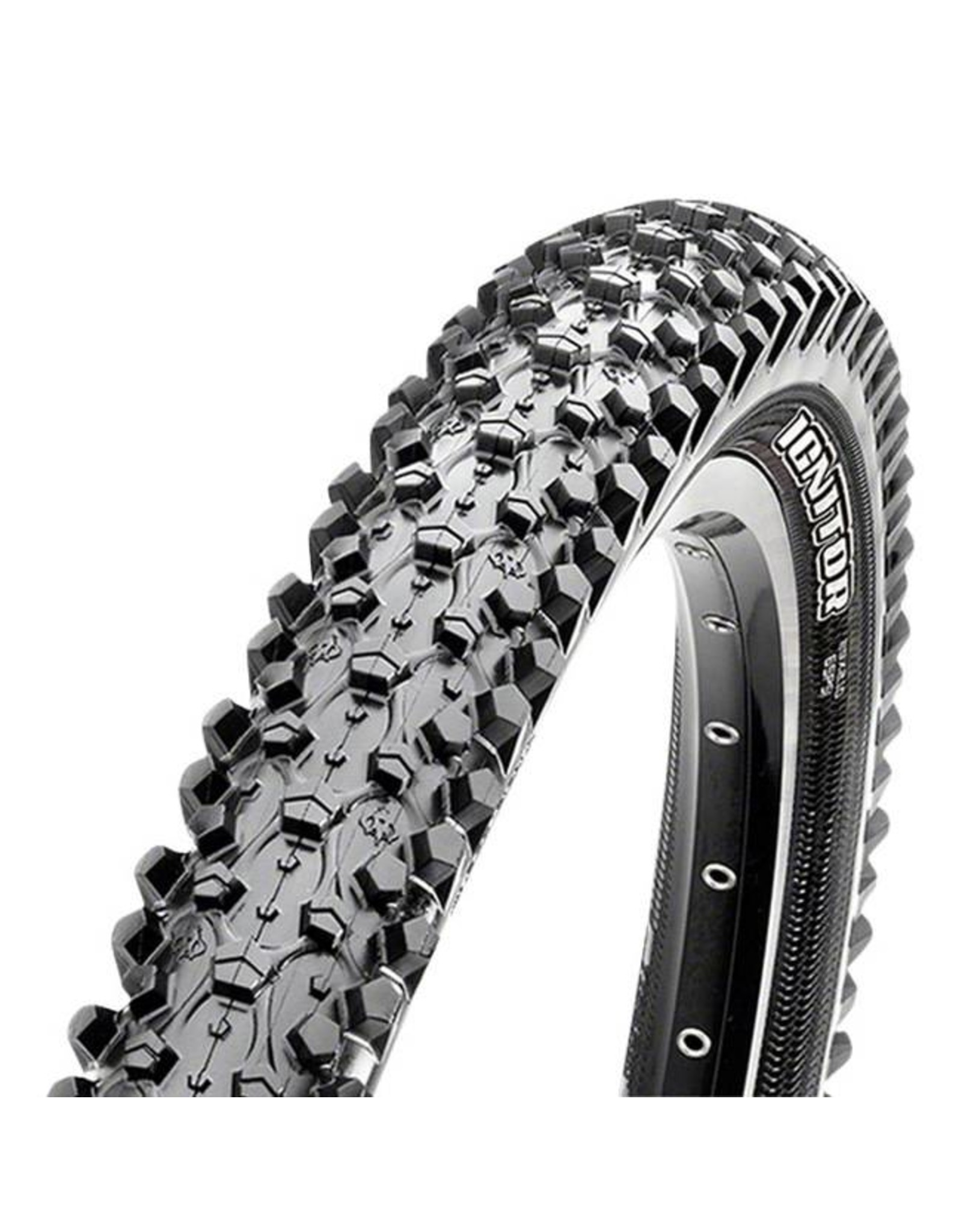 "Maxxis Maxxis Ignitor Tire: 29 x 2.35"", Folding, 60tpi, Single Compound, EXO, Tubeless Ready, Black"