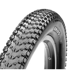 "Maxxis Maxxis Ikon Tire: 26 x 2.20"", Folding, 120tpi, 3C, Tubeless Ready, Black"