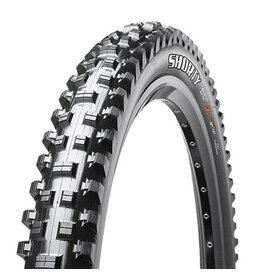 "Maxxis Maxxis Shorty Tire: 27.5 x 2.30"", Folding, 60tpi, 3C, Tubeless Ready, Black"