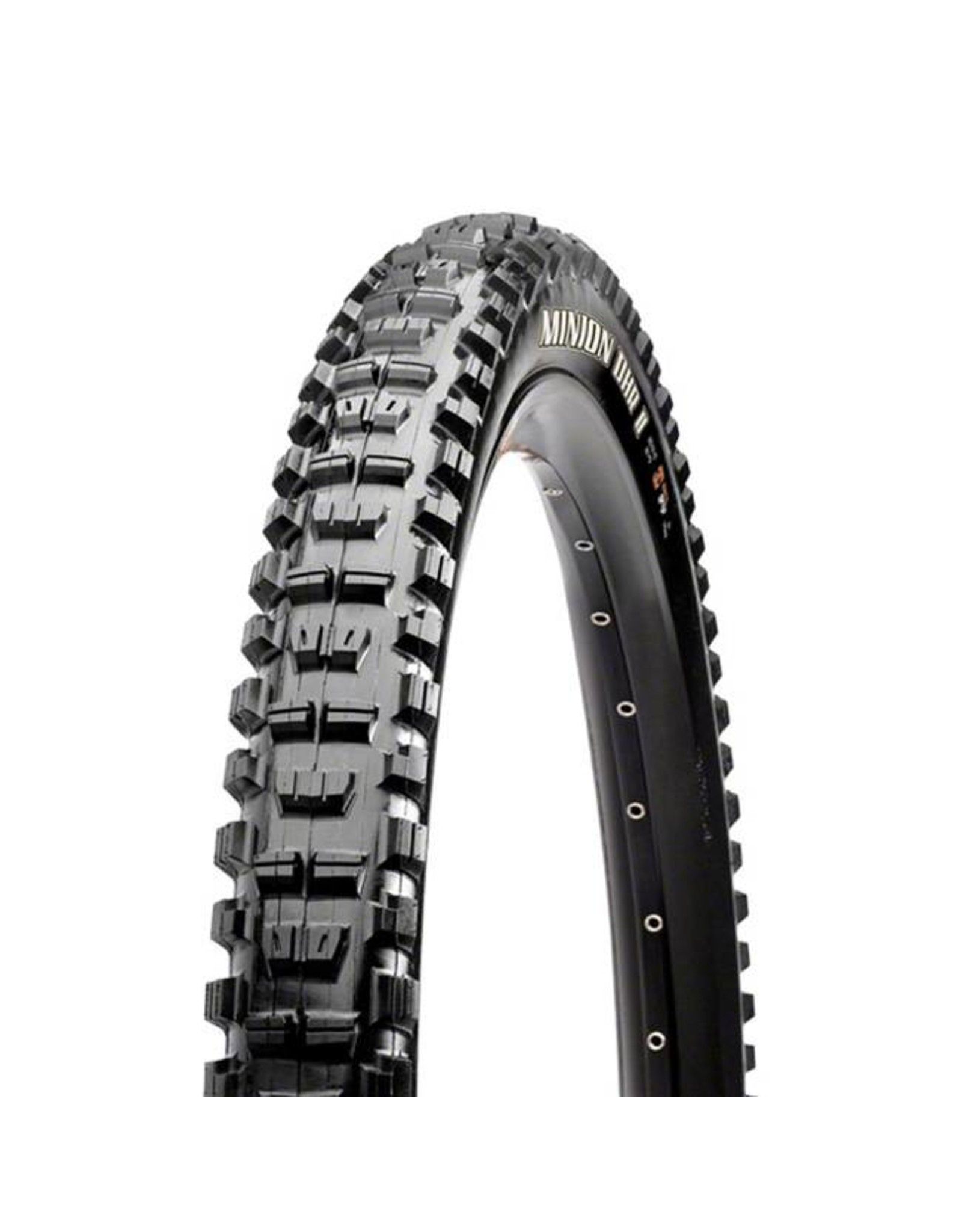 "Maxxis Maxxis Minion DHR II Tire: 27.5 x 2.40"", Wire, 60tpi, 3C 2-Ply, Black"