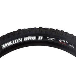 "Maxxis Maxxis Minion DHR II Tire: 27.5 x 2.40"", Wire, 60tpi, Super Tacky 2-Ply, Black"