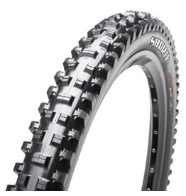 "Maxxis Maxxis Shorty Tire: 27.5 x 2.40"", Wire, 60tpi, 3C 2-Ply, Black"