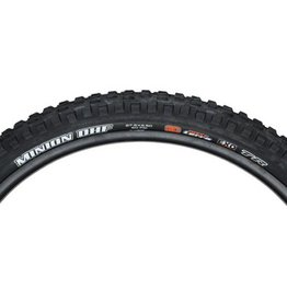 "Maxxis Maxxis Minion DHF Tire: 27.5 x 2.50"", Folding, 60tpi, 3C MaxxTerra, EXO, Tubeless Ready, Wide Trail, Black"