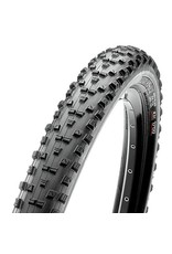 "Maxxis Maxxis Forekaster Tire: 29 x 2.35"", Folding, 120tpi, Dual Compound, EXO, Tubeless Ready, Black"