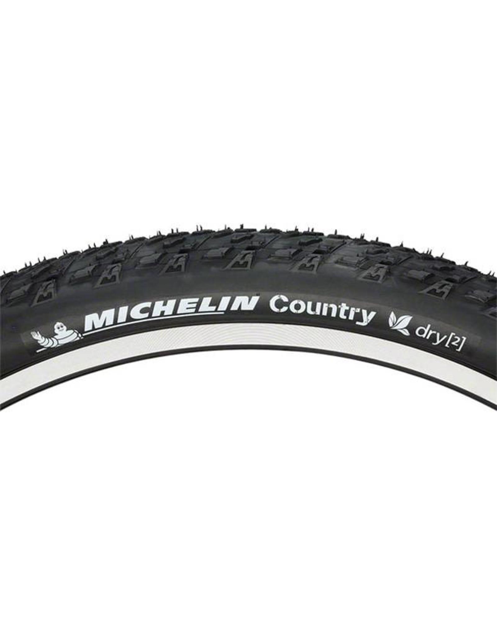 "Michelin Michelin Country Dry 2 Tire, 26x2.0"" Black"