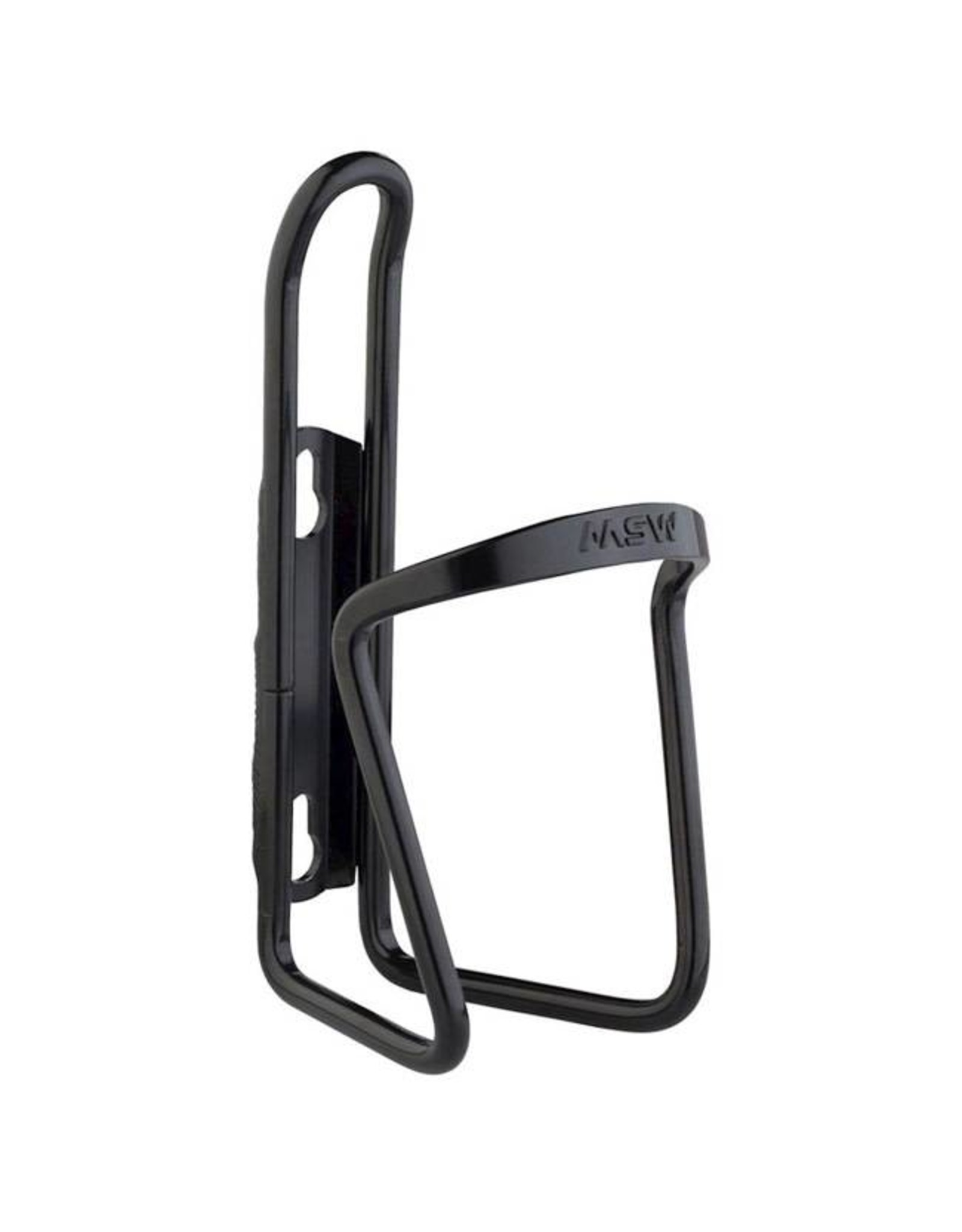 MSW MSW AC-100 Basic Water Bottle Cage: Matte Black