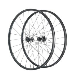 "Industry Nine Industry Nine Trail 270 Wheelset: 29"", 24H, 15 x 110mm Boost Front, 12 x 148mm Boost Rear, Shimano Freehub, Black"