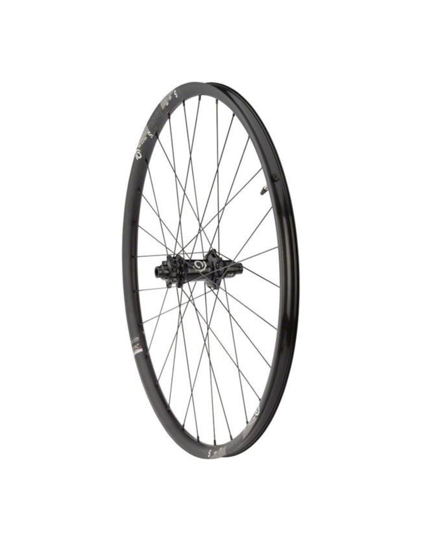 "Industry Nine Industry Nine Trail S Wheelset: 27.5"", 15 x 110mm Thru Axle Boost Front, 12 x 148mm Boost Thru Axle Rear, SRAM XD Freehub, Black"
