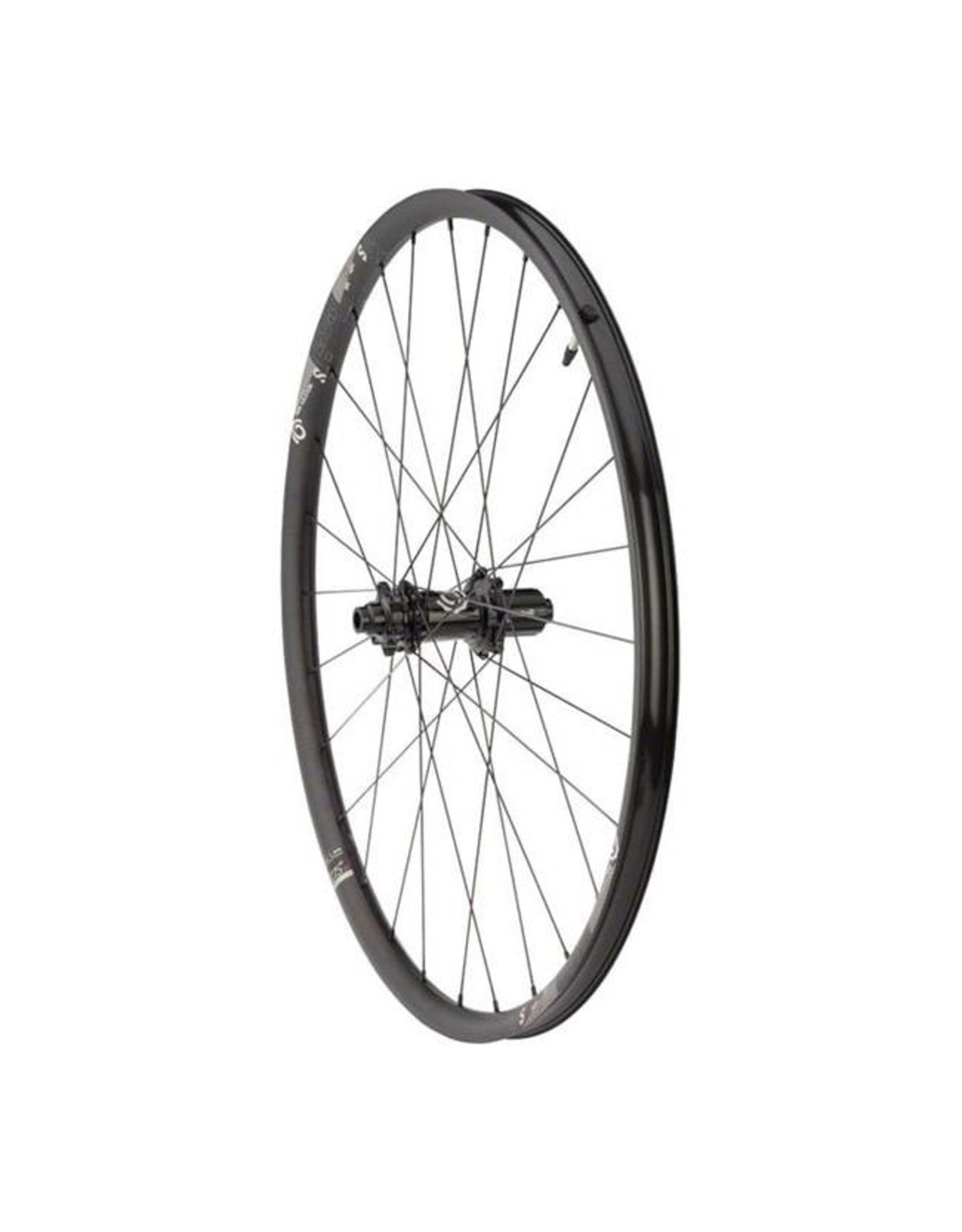 "Industry Nine Industry Nine Trail S Wheelset: 27.5"", 15 x 110mm Thru Axle Boost Front, 12 x 148mm Boost Thru Axle Rear, Shimano HG Freehub, Black"