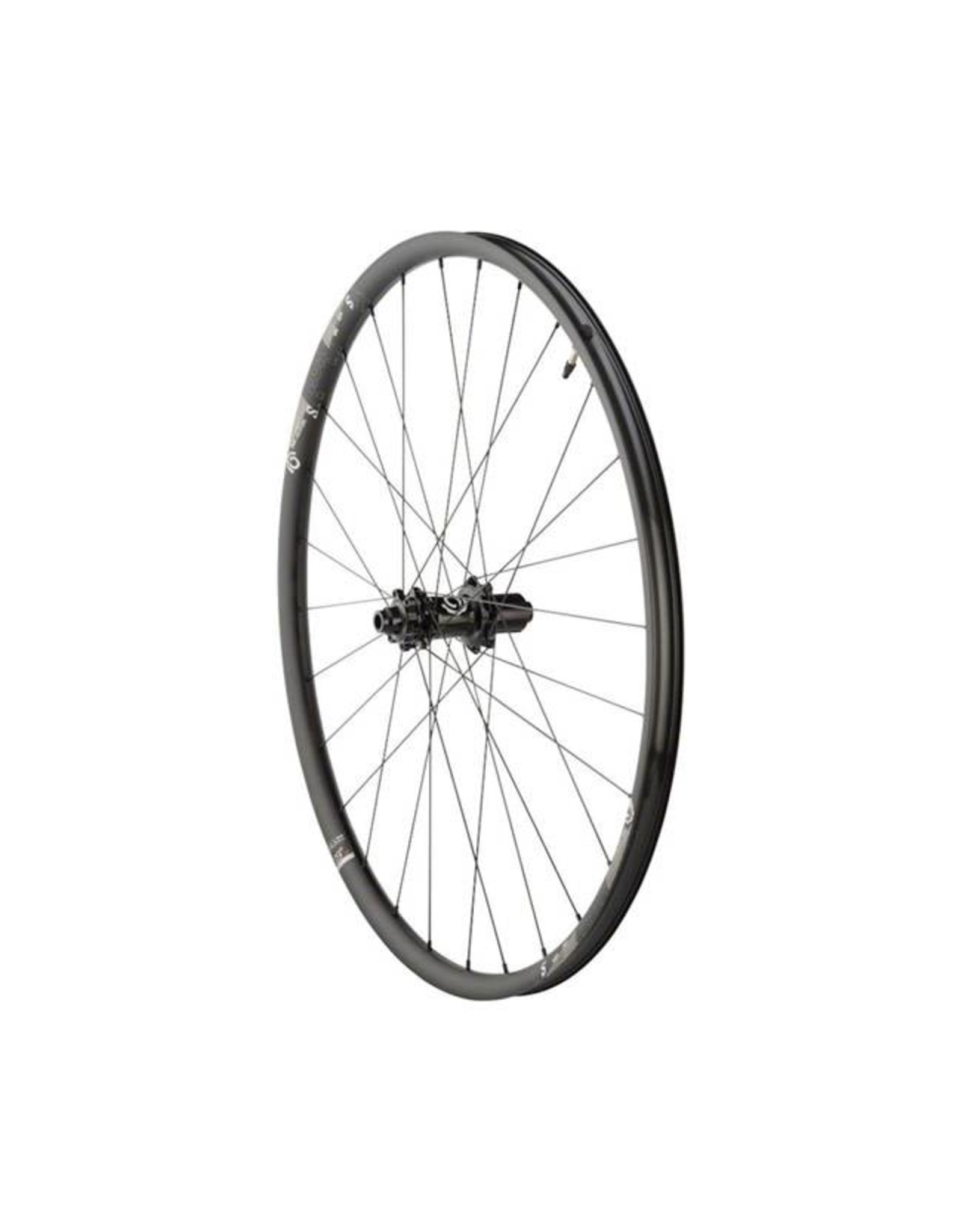 "Industry Nine Industry Nine Trail S Wheelset: 29"", 15 x 110mm Thru Axle Boost Front, 12 x 148mm Boost Thru Axle Rear, Shimano HG Freehub, Black"