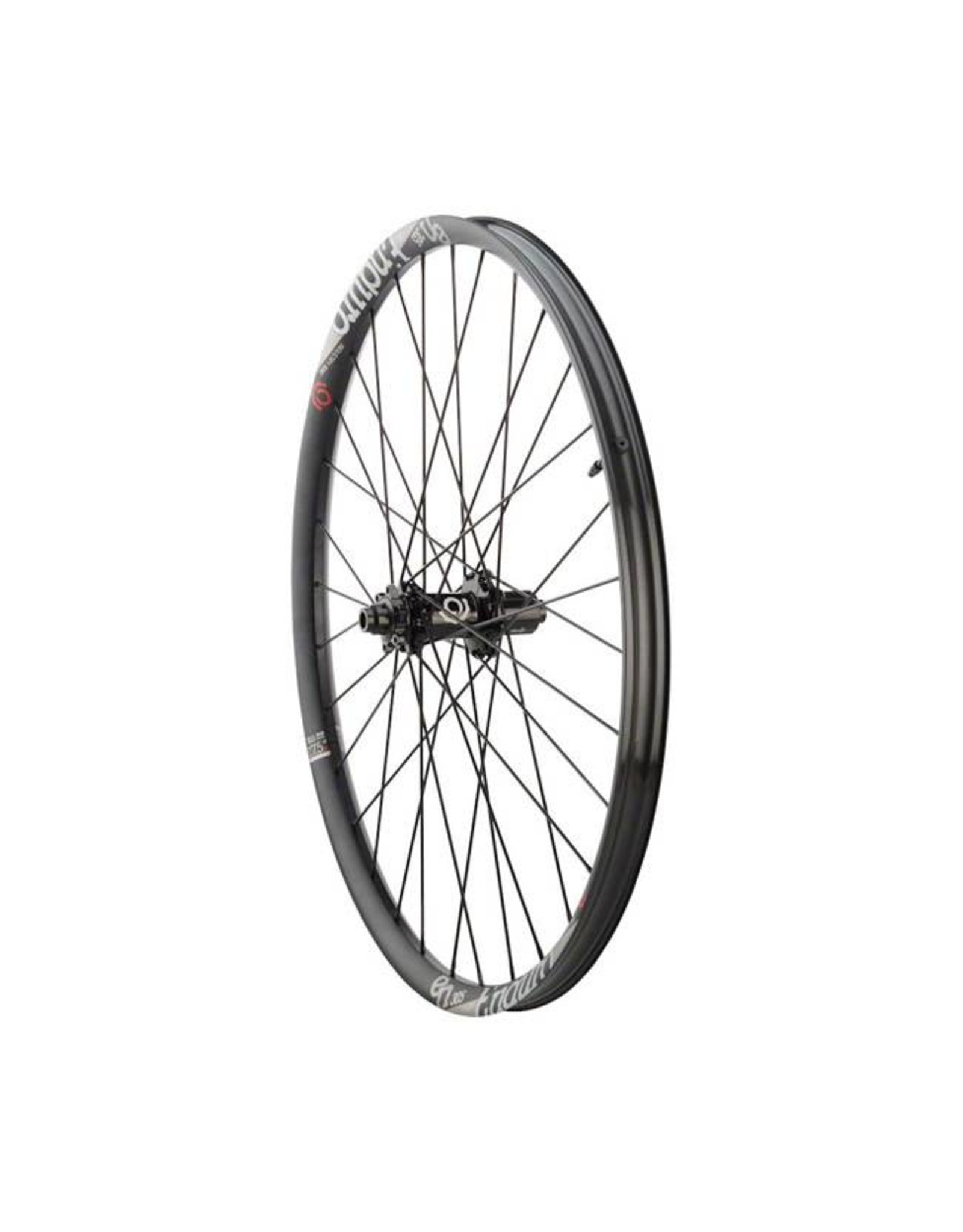 "Industry Nine Industry Nine  Enduro 305  Wheelset: 27.5"" 15 x 110mm Thru Axle Front, 12 x 148mm Thru Axle Rear, Shimano HG Freehub, Black"