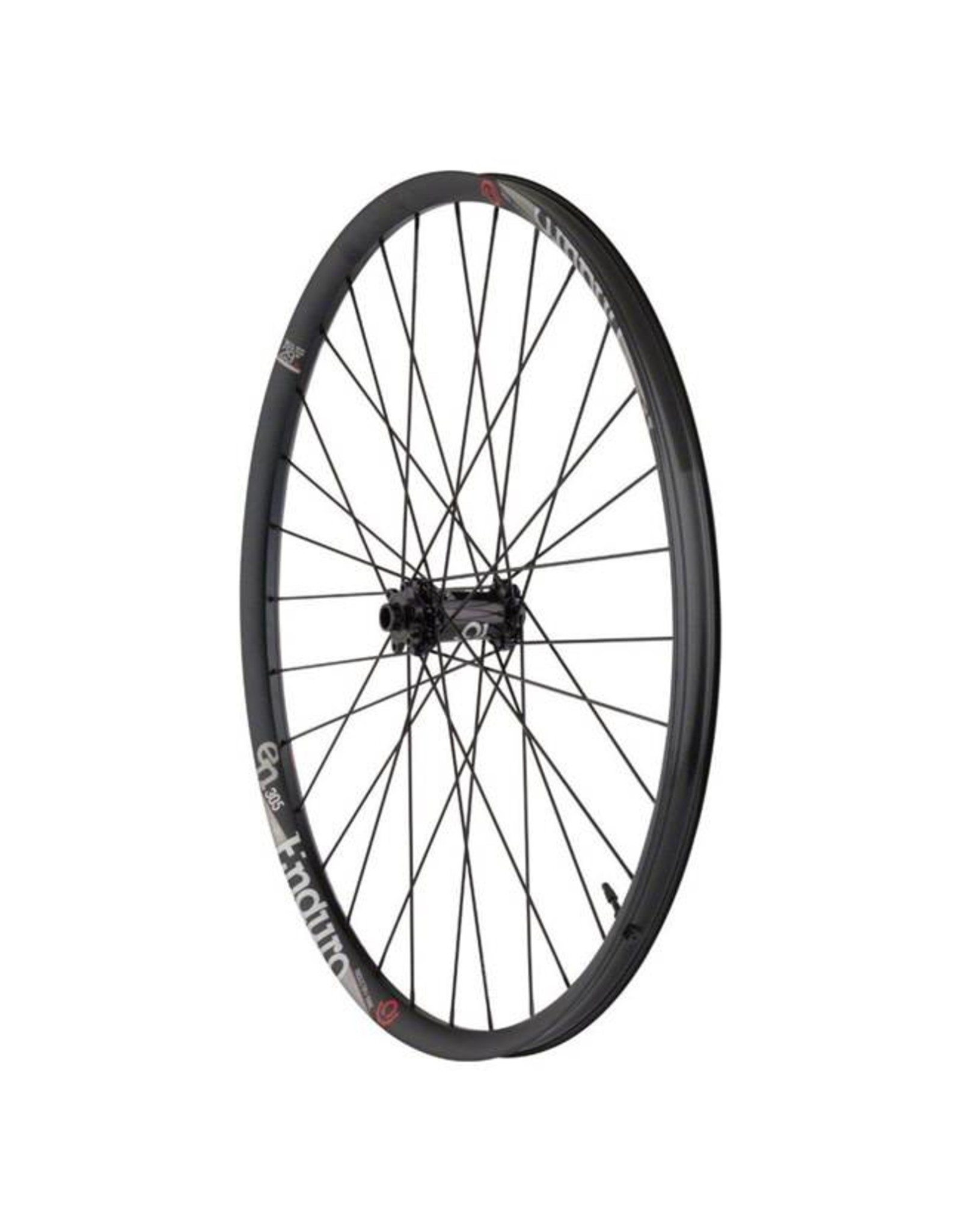 "Industry Nine Industry Nine  Enduro 305  Wheelset: 29"" 15 x 110mm Thru Axle Front, 12 x 148mm Thru Axle Rear, SRAM XD Freehub, Black"