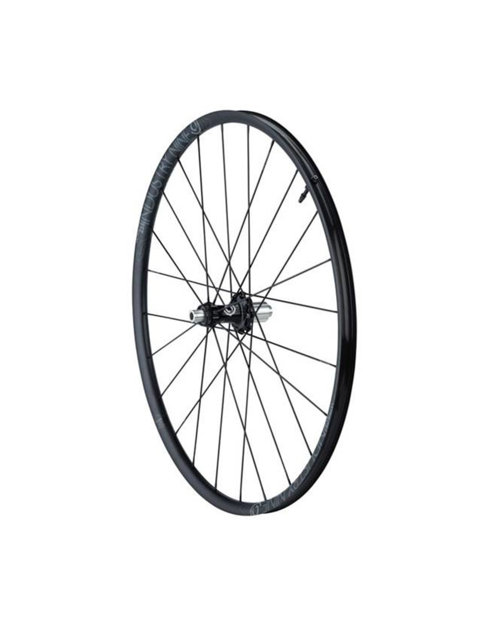 Industry Nine Industry Nine ULCX235 TRA 700c Wheelset with 12/12x142mm Axles, HG Freehub Body, All Black