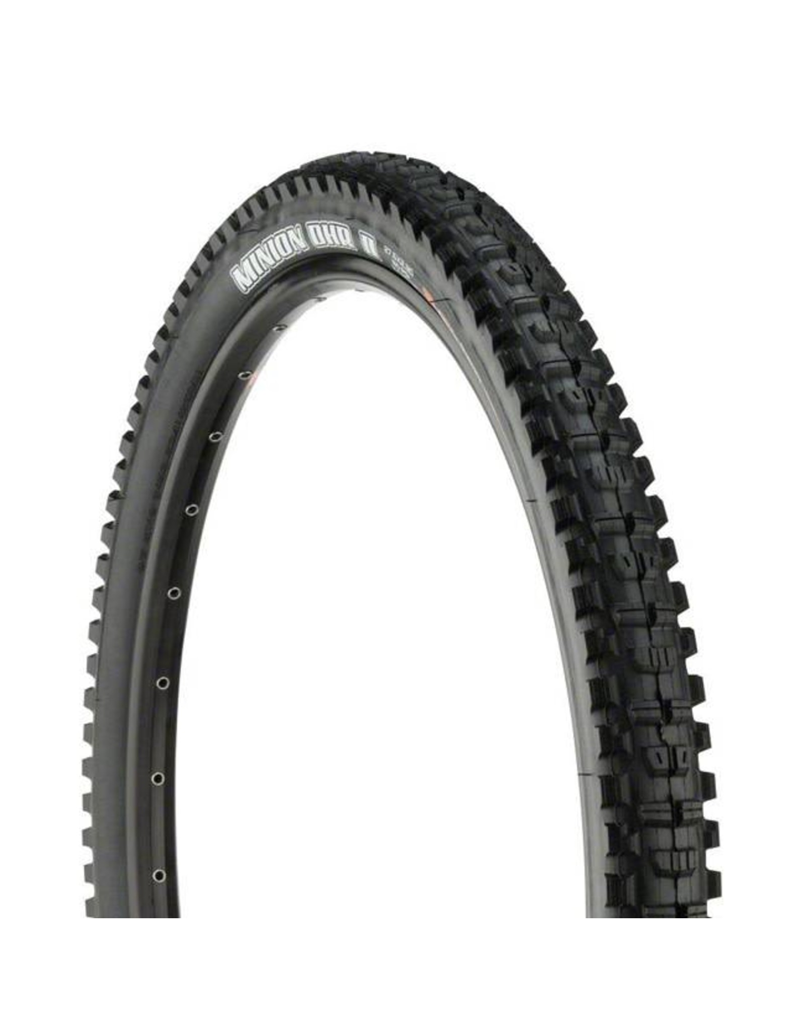 "Maxxis Maxxis Minion DHR II Tire: 27.5 x 2.30"", Folding, 120tpi, 3C, Double Down, Tubeless Ready, Black"