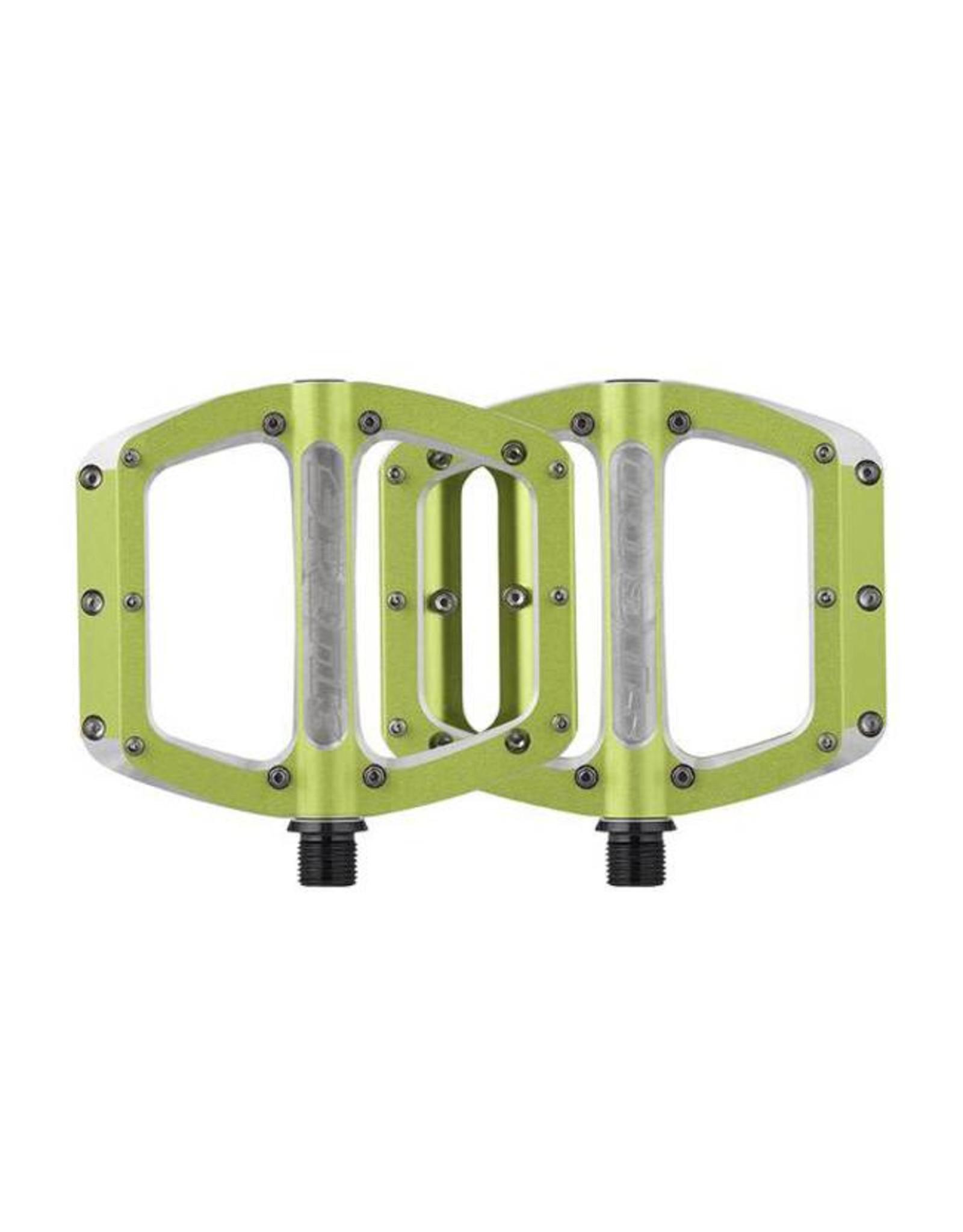 Spank Spank Spoon Medium (100mm) Pedals, Green