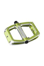 Spank Spank Spoon Large (110mm) Pedals, Green
