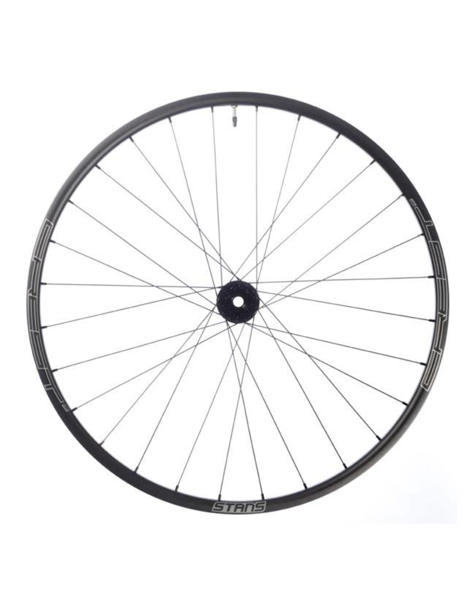 "Stan's No Tubes Stan's No Tubes Crest CB7 Rear Wheel: 29"" Carbon, 12 x 148mm Boost, Center Lock, Shimano Freehub, Black"