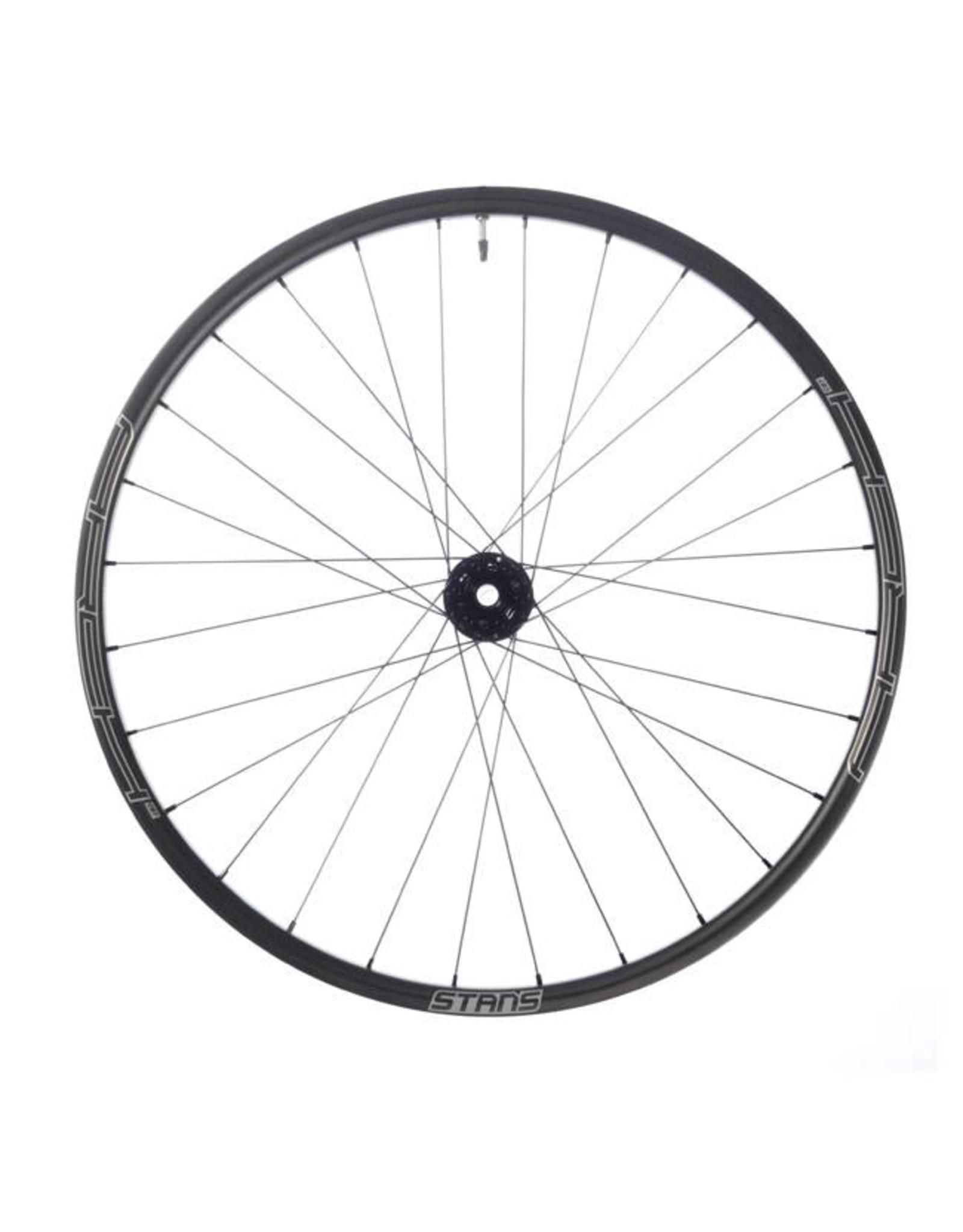 "Stan's No Tubes Stan's No Tubes Arch CB7 Rear Wheel: 27.5"" Carbon, 12 x 142mm, 6-Bolt Disc, SRAM XD, Black"
