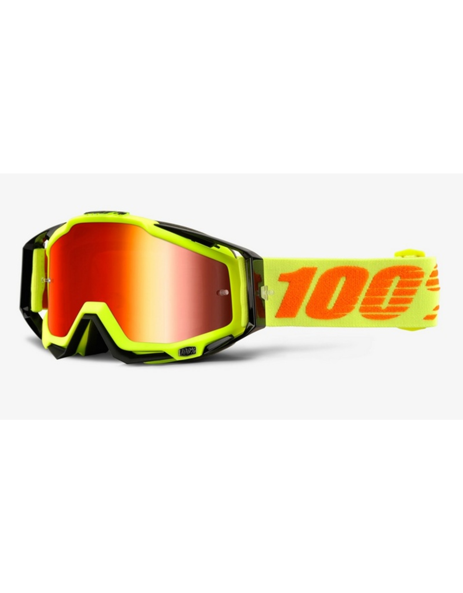 100% 100% Racecraft Goggle Yellow