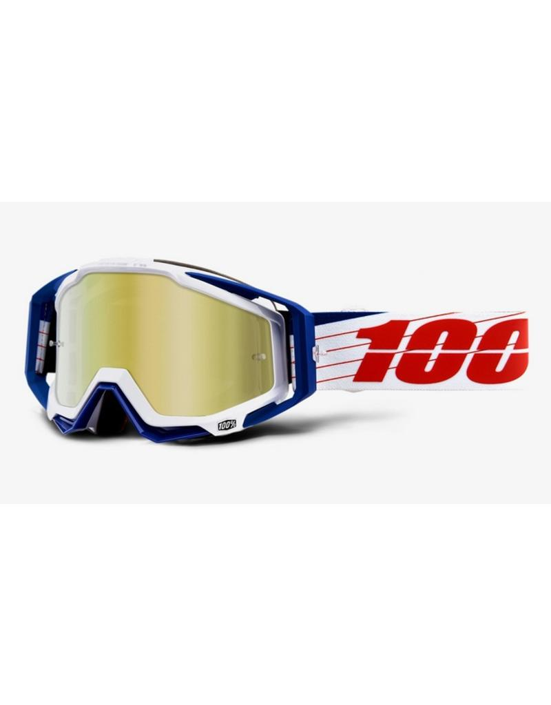 100% 100% Racecraft Goggle Bibal/White