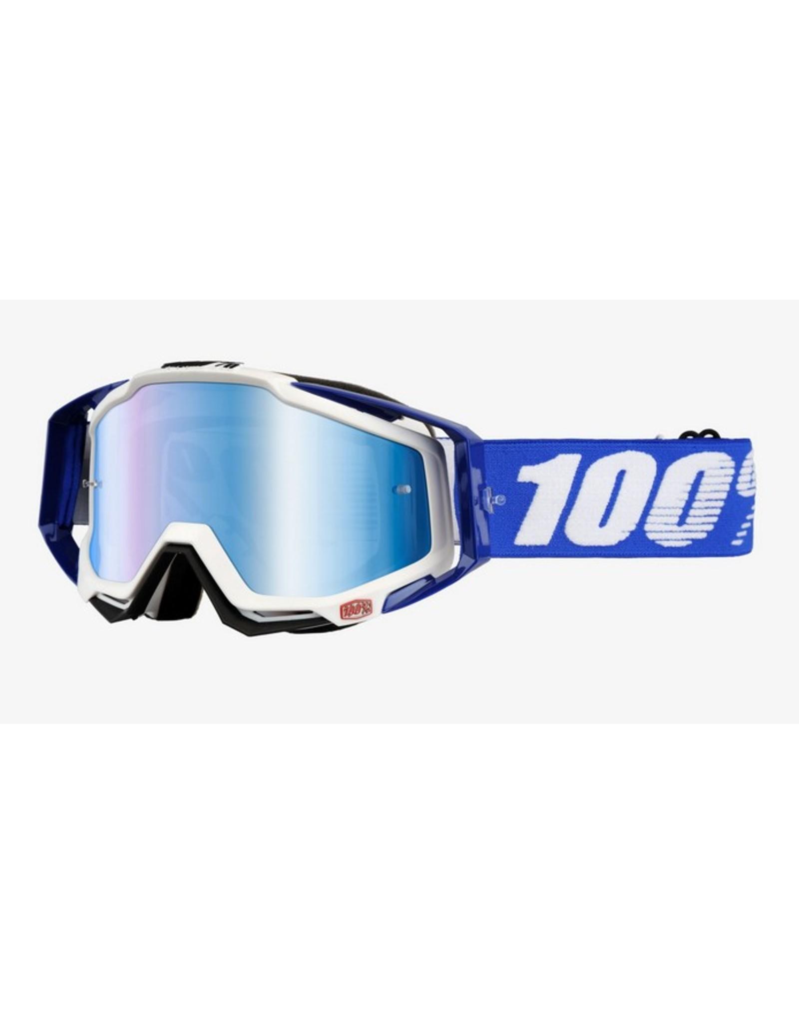 100% 100% Racecraft Goggle Cobolt