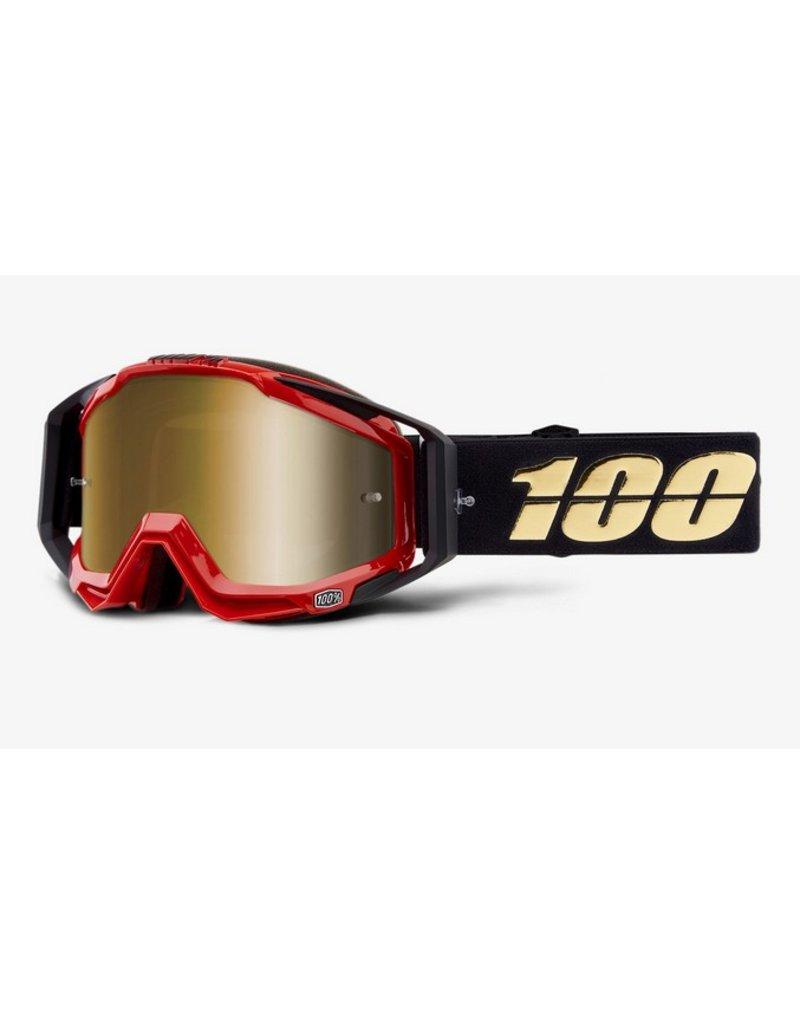 100% 100% Racecraft Goggle Hot Rod