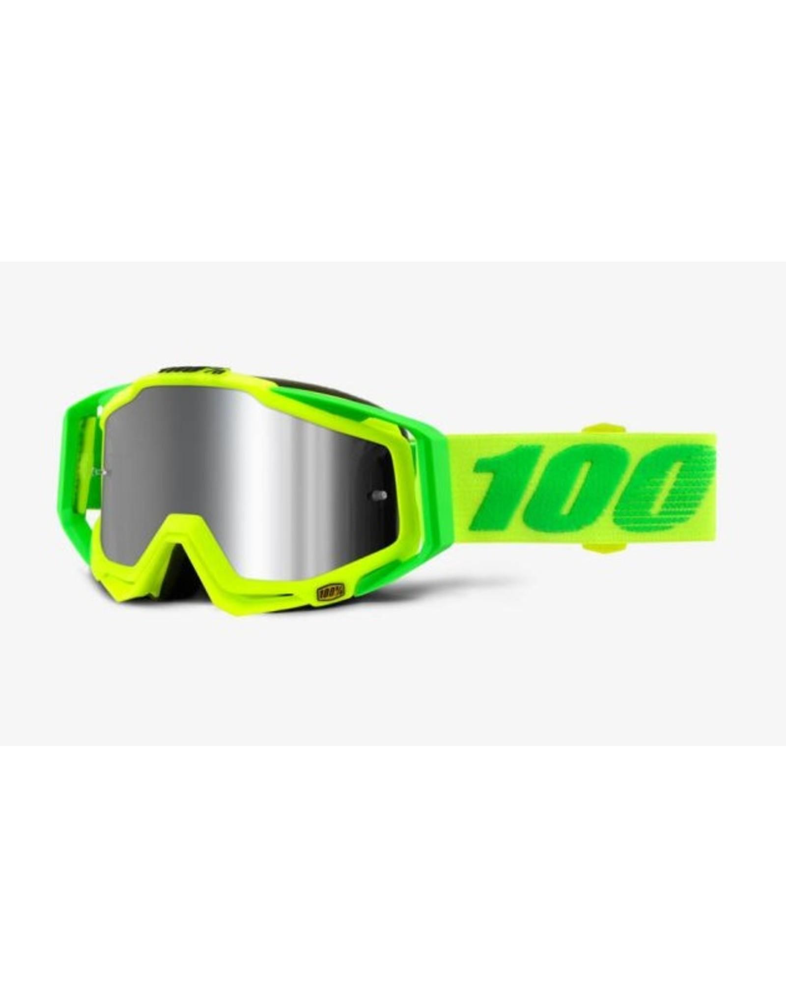 100% 100% Racecraft Goggle PLUS Sour