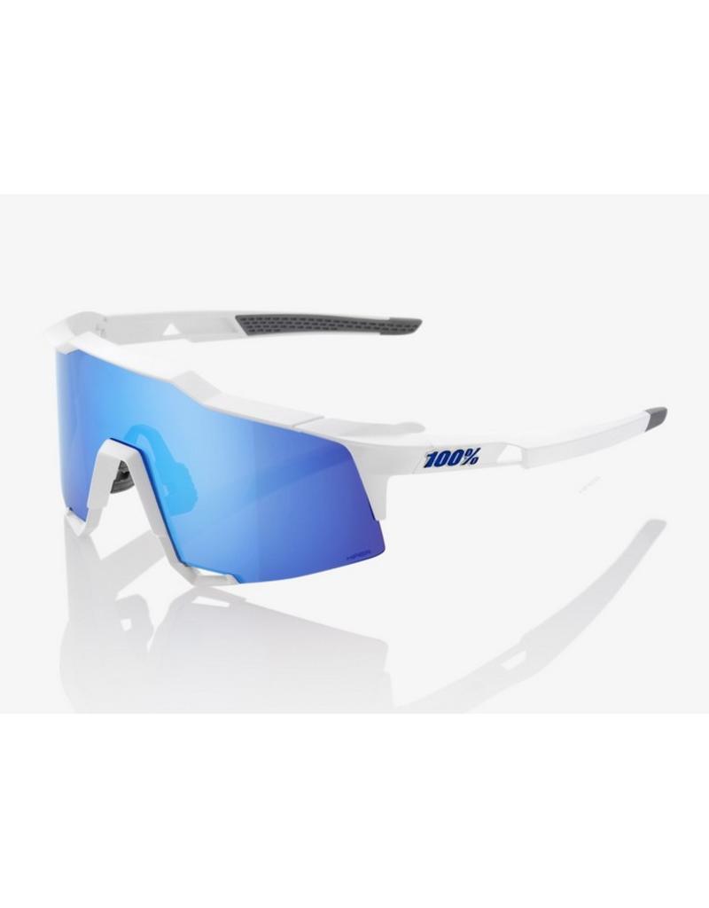 100% 100% Speedcraft Matte White/Blue