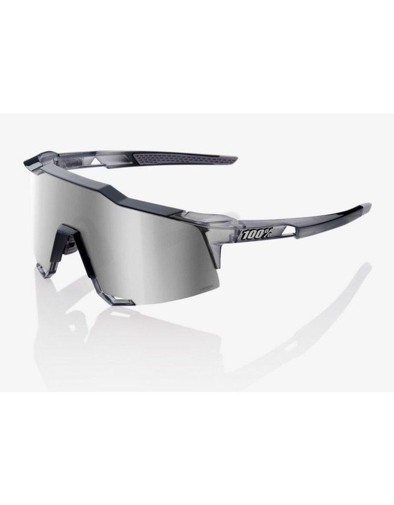 100% 100% Speedcraft Crystal Grey/Silver