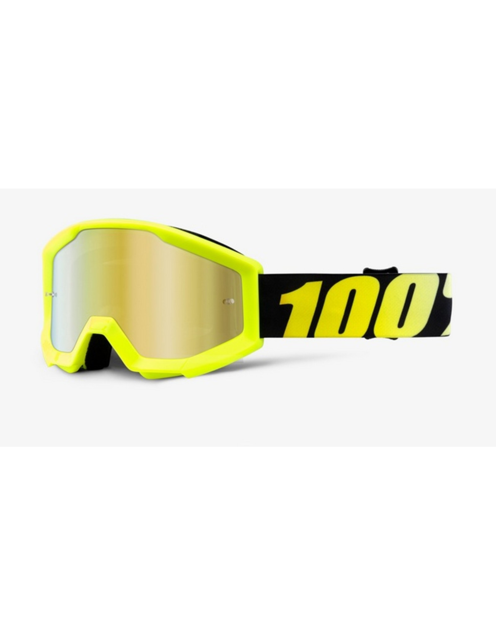 100% 100% Accuri Youth Neon Yellow