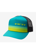 Yeti Cycles Yeti Ombre Trucker Hat - Turq