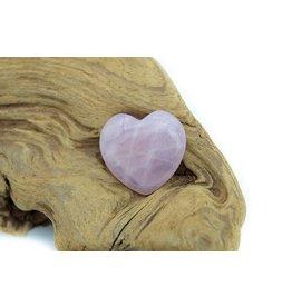 Coeur quartz rose (petit)