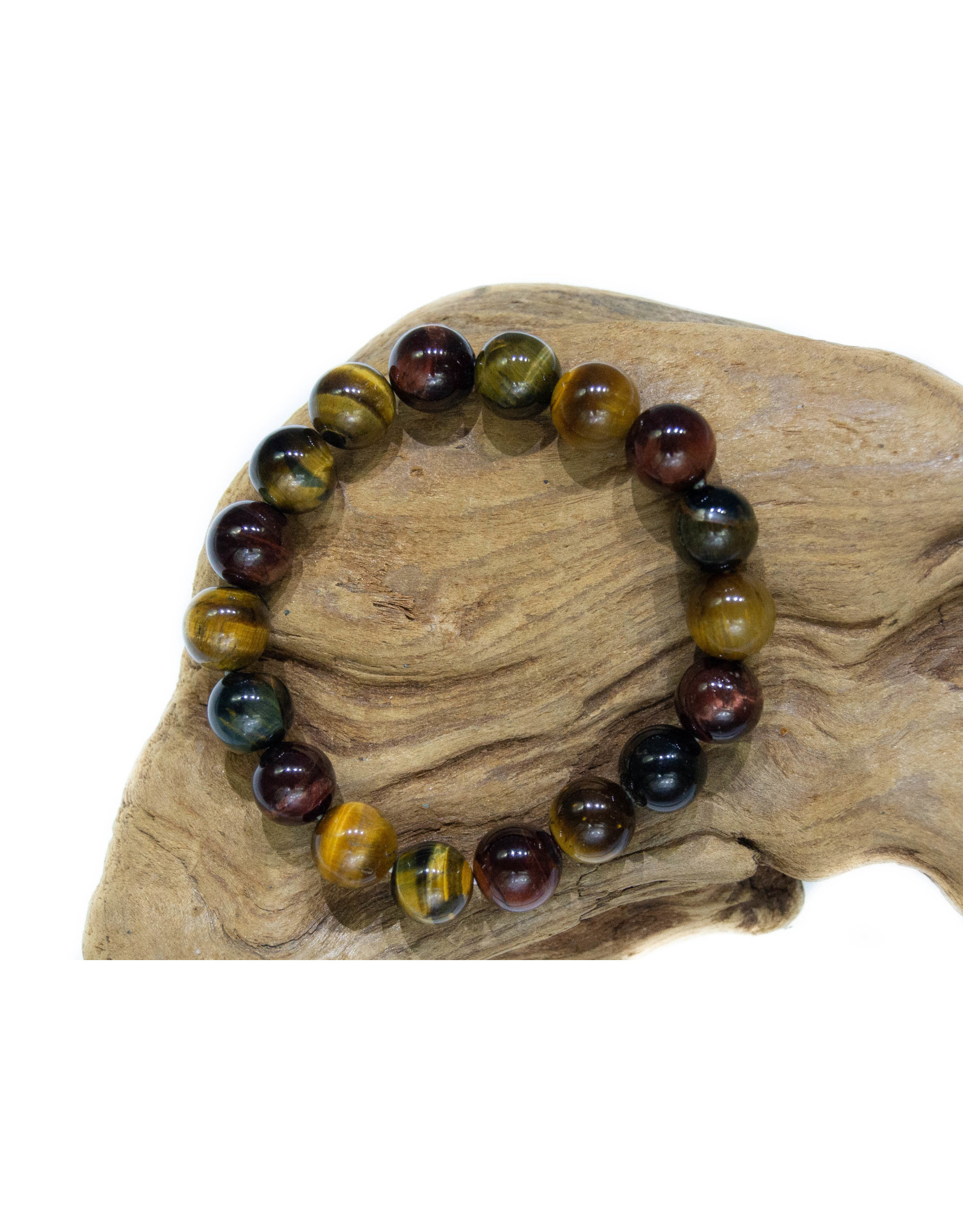 Bracelet Oeil de tigre-boeuf-faucon