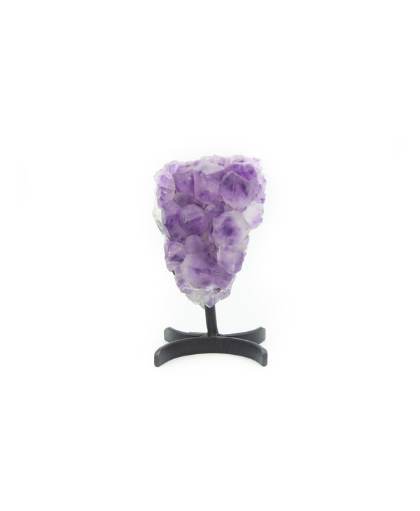 Amethyst with stand
