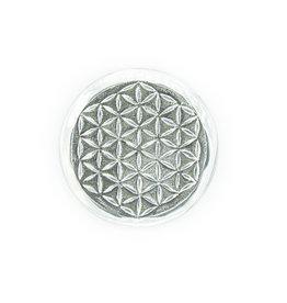 Porte-encens fleur de vie aluminium