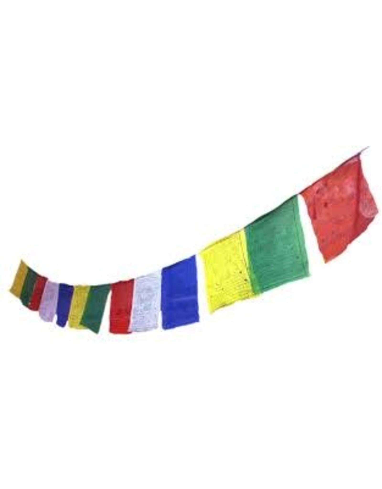 Tibetan prayer flags