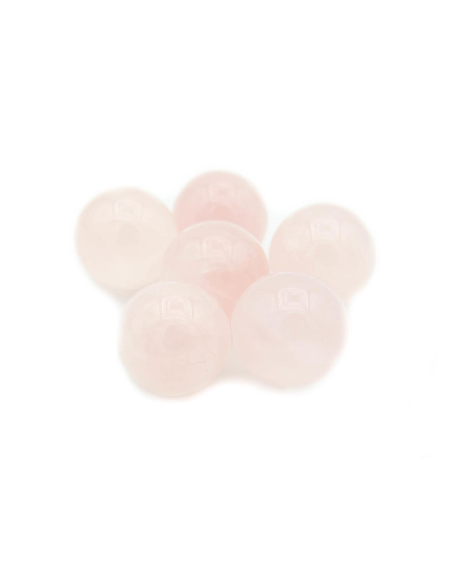 Quartz rose mini sphère