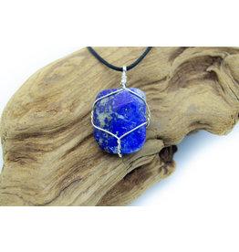 Collier montage à la main en Lapis Lazuli