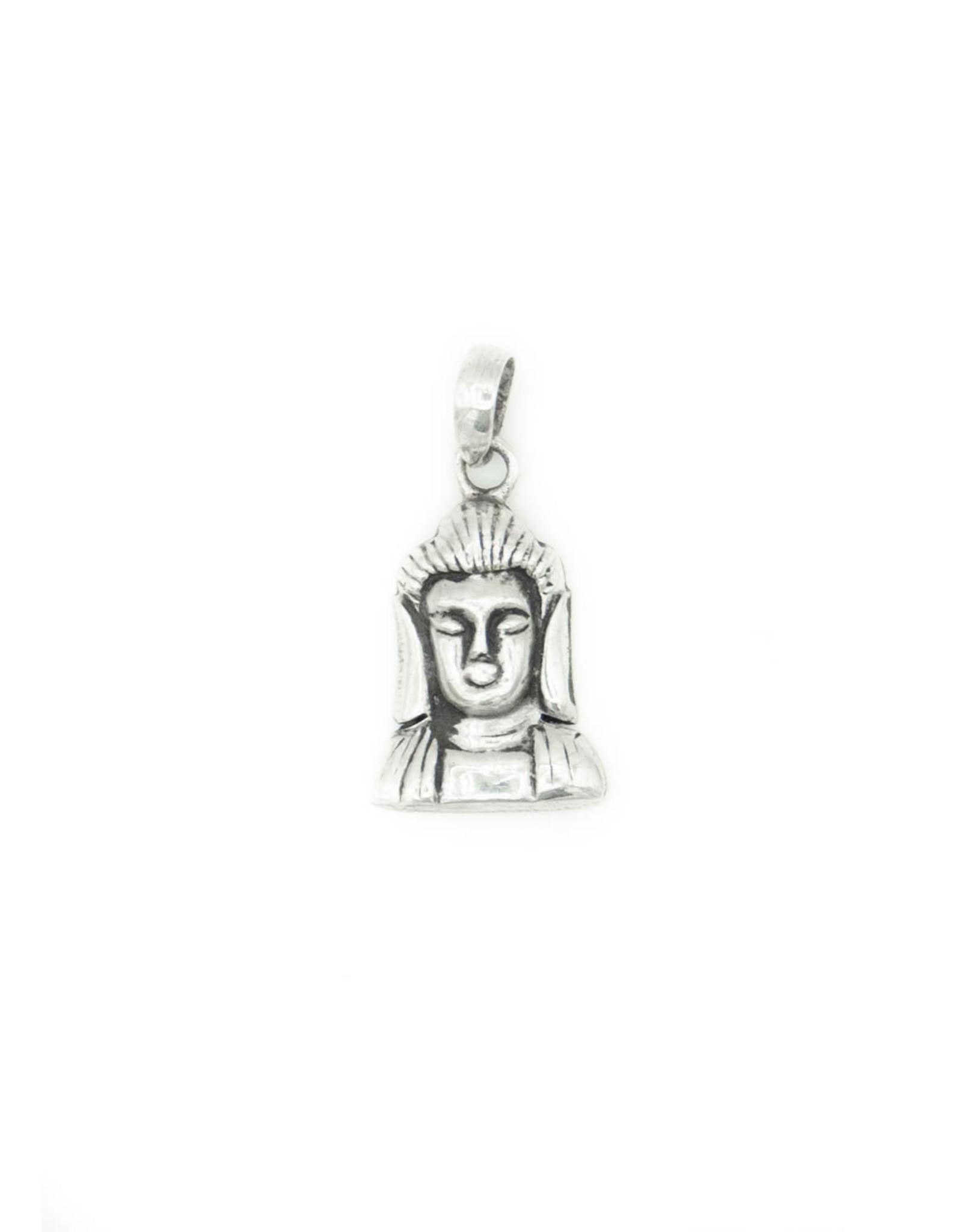 Silver Pendant Buddha