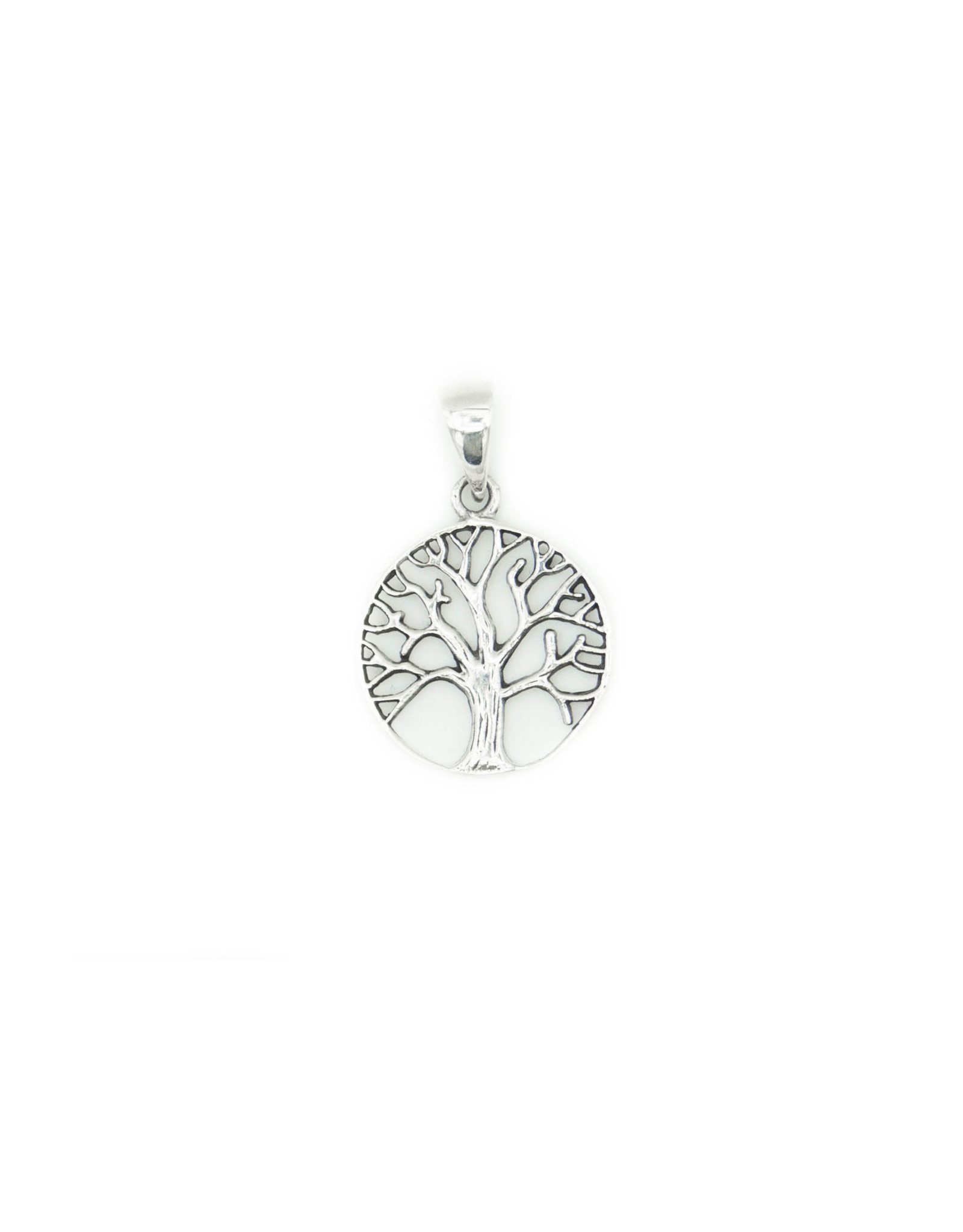 Silver Pendant - Tree of life
