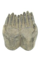 Mains plâtre