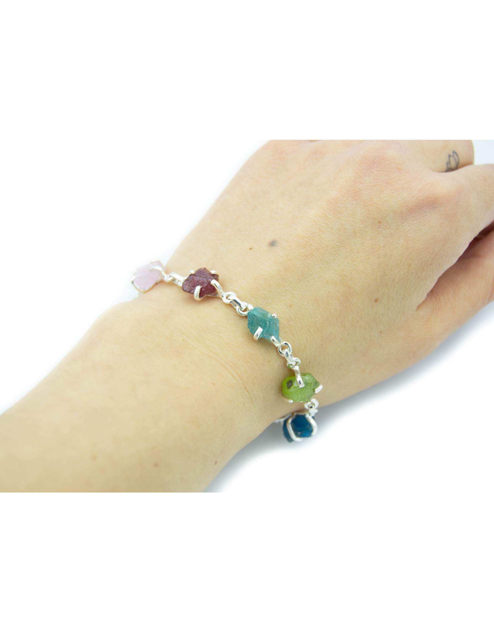 Bracelet pierres multi